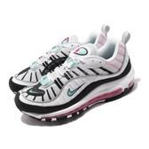 Nike 休閒鞋 Wmns Air Max 98 白 黑 女鞋 運動鞋 【PUMP306】 AH6799-065