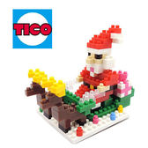 【Tico微型積木】聖誕系列-聖誕老人 T-9225