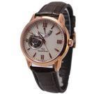 【萬年鐘錶】ORIENT東方之星OPEN HEARTx SOMES系列 鏤空錶面錶背機械錶 皮帶款 玫瑰金 WZ0211DA
