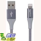 [7美國直購] 連接線 AmazonBasics Double Braided Nylon Lightning to USB A Cable, Advanced Collection