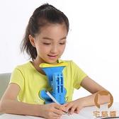 坐姿矯正器兒童姿勢糾正儀防寫字架【宅貓醬】