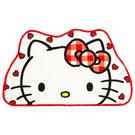 Hello Kitty地墊 大臉愛心白色造型地墊/腳踏墊/客廳浴室臥房踏墊 [喜愛屋]