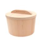 【瑕疵不完美】NG惜物優惠價|台灣檜木小米桶 2kg,木製餐具儲米桶,會雙向呼吸的儲物收納木桶
