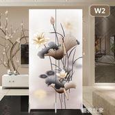 屏風客廳隔斷牆中式小戶型臥室折疊行動推拉雙面布藝現代簡約折屏MBS『潮流世家』