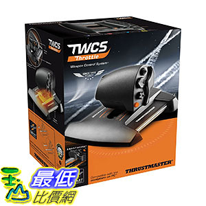 [美國直購] Thrustmaster VG TWCS 遊戲 控制器 Throttle Controller (2960754) - PC Mac Linux