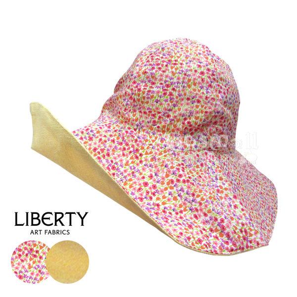 法國製Cocolico手工棉麻雙面遮陽帽-Sunny