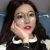 太陽眼鏡 眼鏡框防輻射眼鏡女防藍光平光鏡潮 台北日光