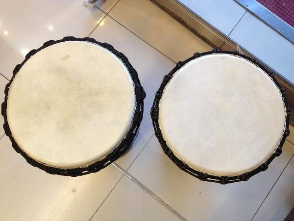 【金聲樂器廣場】全新 非洲鼓 金杯鼓 手工圖騰雕刻 手鼓 11吋 x 60CM