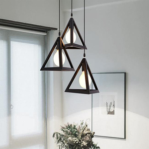 HONEY COMB 工業風視覺系單吊燈 三角形 TA8387
