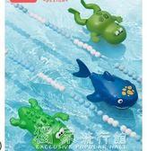 洗澡玩具寶寶洗澡玩具嬰兒戲水發條游泳小烏龜兒童游水青蛙玩 『獨家』流行館