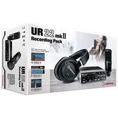 【金聲樂器】Steinberg UR22 MK II RECORDING PACK 專業套組 錄音介面 含耳機 麥克風