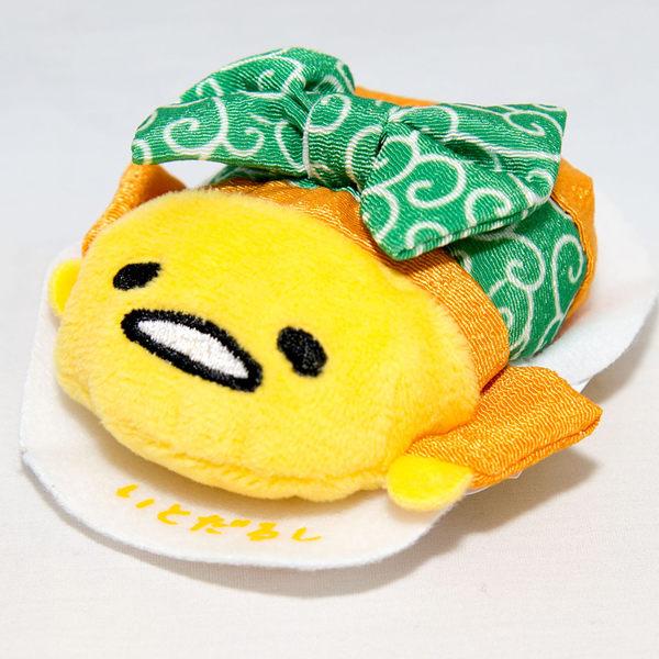 蛋黃哥 日式和服小布偶 日本まめぷち吉祥物