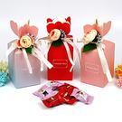 幸福婚禮小物❤小花喜糖盒---1組10入❤迎賓禮/二次進場/活動小禮物/送客禮/喜糖盒
