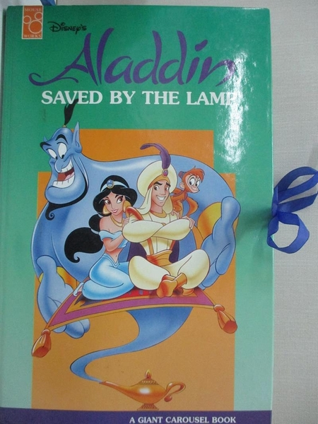 【書寶二手書T1/少年童書_EB2】ALADDIN SAVED BY THE LAMP (立體書)
