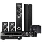 美國 Polk Audio RTiA5 5.1聲道 家庭劇院組 (RX-V485+RTiA5+CSiA4+RTiA1+PSW110)