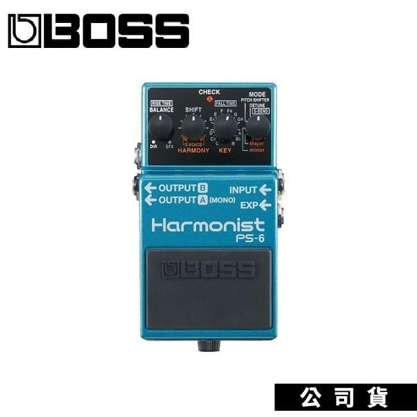 【南紡購物中心】效果器 BOSS PS-6 Harmonist 智慧型移調 結合四種效果 原廠公司貨