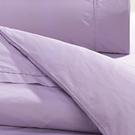 床包組 單人-精梳棉床包組/淡紫迷情/美國棉授權品牌[鴻宇]台灣製1165