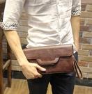 FINDSENSE Z1 韓國 時尚 潮 男 皮質 多功能 手拿包 手機包 煙包