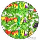 花藤 仿真水果藤條綠葉藤蔓樹葉蔬菜葫蘆吊頂飯店塑料假葡萄葉裝飾花藤 3C優購
