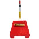 現貨-防滑塗料大面積施工用-9吋專業羊毛滾刷+9吋紅漆盤+三段式伸縮桿