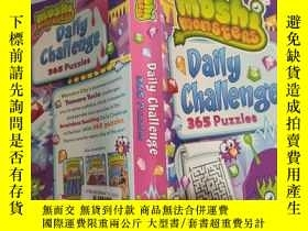 二手書博民逛書店Moshi罕見monsters daily challenge 365 puzzles 摩希怪獸每日挑戰365個謎