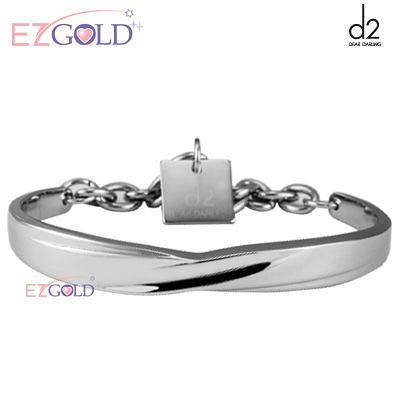 d2鋼飾♥悸動纏綿♥鋼飾手環(男)