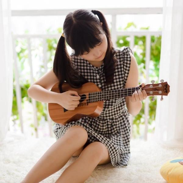 烏克麗麗初學者學生成人女男23寸26寸烏克麗麗兒童ukulele小吉他WY【快速出貨】