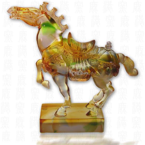 鹿港窯~居家開運水晶琉璃~ 古韻雄風◆附精美包裝◆附古法制作珍藏保證卡◆免運費送到家