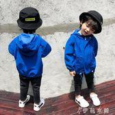 風衣 男童外套風衣兒童加棉加厚寶寶3小男孩洋氣沖鋒衣5歲潮 伊鞋本鋪