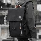 潮牌男士雙肩包ins 超火韓版中大學生書包大容量休閒包背包男-Ifashion