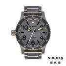 NIXON DIPLOMAT 自動錶 機械錶 藍寶石鏡面 正裝錶 高階款 消光灰 潮人裝備 潮人態度 禮物首選