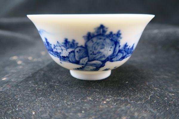 三希 手繪山水茶具組  全祥茶莊 OG02