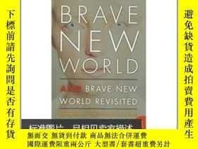 二手書博民逛書店Brave罕見New World and Brave New World Revisited(勇敢新世界與勇敢新世