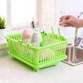 廚房塑料瀝水碗碟架瀝水架置物架碗櫃收納盒水槽杯架瀝碗架