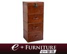 『 e+傢俱 』LK1 復古風潮 全牛皮 復古風格 斗櫃   收納櫃   工業風   復古牛皮傢俱   抽屜櫃