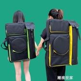 韓版新款4k多功能畫包畫板袋大容量藝考美術生專用防水寫生美術袋MBS『潮流世家』