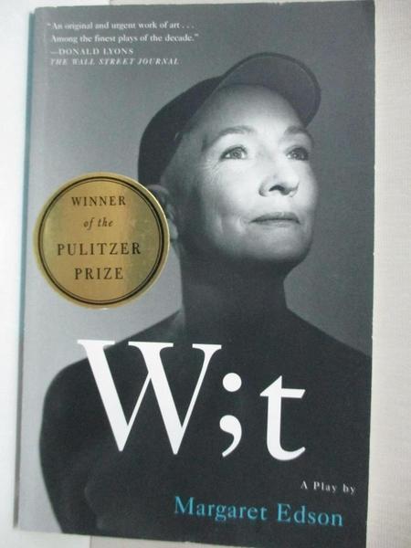 【書寶二手書T3/原文小說_CY9】Wit: A Play_Edson, Margaret