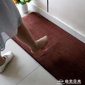 地墊進門地墊門廳衛浴衛生間門口吸水防滑門墊可機洗慢回彈腳墊地板墊  igo 台北日光
