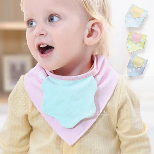 粉嫩色系草莓造型防水三角巾