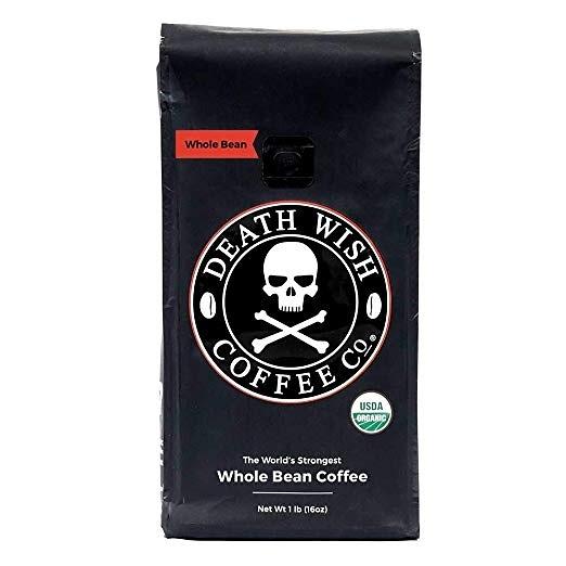 【美國代購】Death Wish Whole Bean Coffee 全豆咖啡 世界上最強咖啡