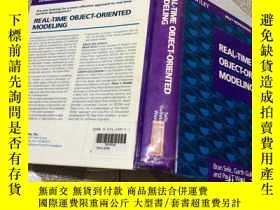 二手書博民逛書店REAL-TIME罕見OBJECT-ORIENTED MODEL