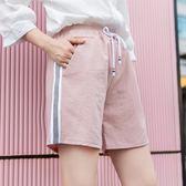 bf風五分褲女外穿寬鬆闊腿直筒夏季熱褲工裝休閒學生運動短褲 【八點半時尚館】