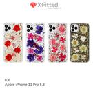【愛瘋潮】X-Fitted Apple iPhone 11 Pro (5.8吋) FLORA 真乾花保護殼 雙料