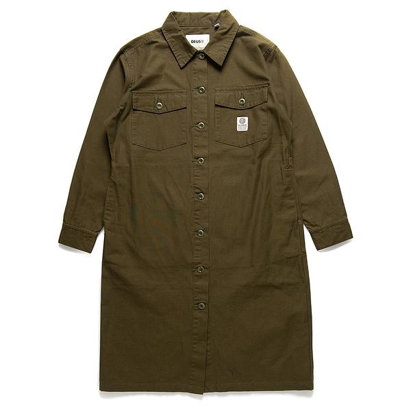 Taylor Shirt Dress 洋裝 - 橄欖色