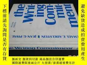 二手書博民逛書店The罕見Writing Commitment5919