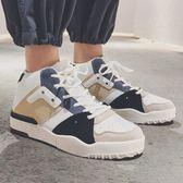 男鞋子韓版潮流運動潮鞋秋季港風嘻哈高筒板鞋