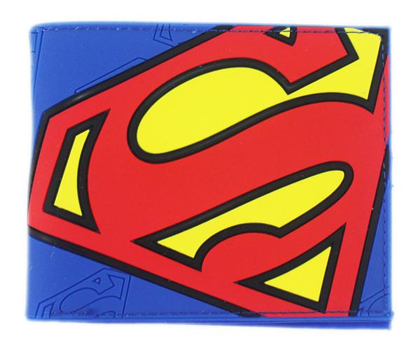 【卡漫城】 Superman 皮夾 塑膠 藍色 ~ DC 漫畫迷 短夾 卡片套 內為仿皮 超人 英雄 Comics