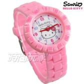 SANRIO三麗鷗 HELLO KITTY 凱蒂貓 日本機芯 可愛童趣卡通錶 女錶 粉紅色 S7-1051K