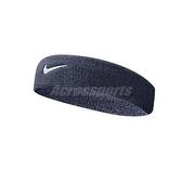 Nike 頭帶 Swoosh HeadBand 藍 白 勾勾 毛巾布 男女適用 髮帶 【ACS】 NNN0741-6OS