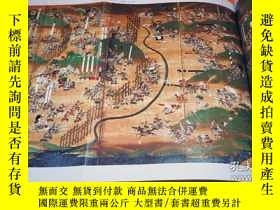二手書博民逛書店Japanese罕見Sengoku Period Folding Screen Book from Japan S